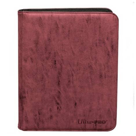 Ultra Pro Premium C4 Pro Binder - Red (Holds 360 Cards)