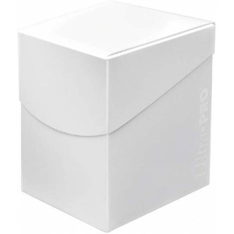 ULTRA PRO+100 ECLIPSE ARCTIC WHITE DECK BOX