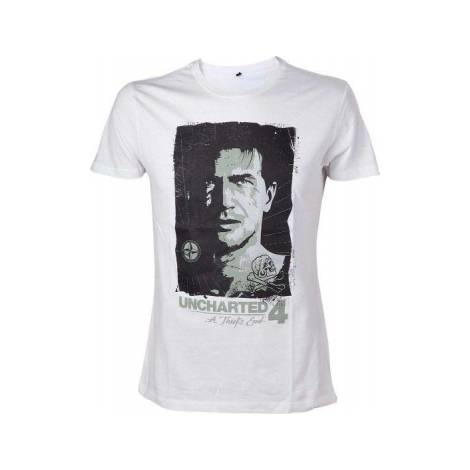 UNCHARTED 4 - DRAKE'S COMPASS T-SHIRT - SIZE M/XL (TS302042UNC-M/XL)