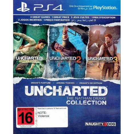 Uncharted: The Nathan Drake Collection με Ελληνικούς υπότιτλους (PS4) (Sony)