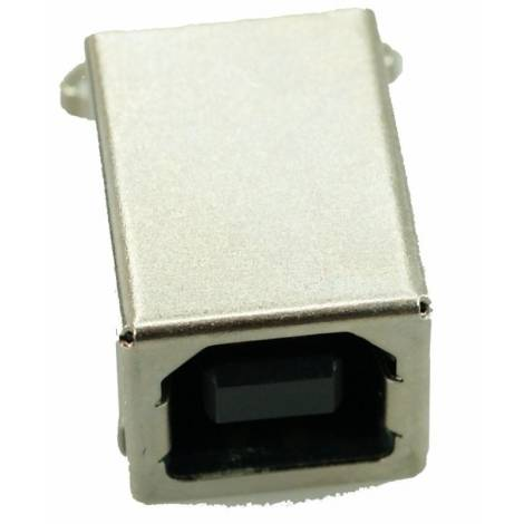 USB 2.0 Connector B TYPE, MID Solder in, Cooper, Gold (CON-U015)