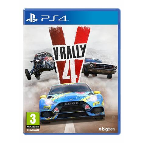 V-Rally 4 (PS4) (pre-order item included)