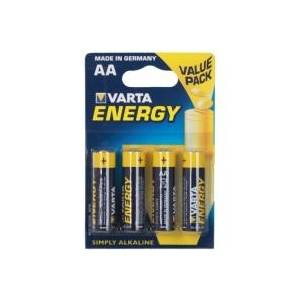 VARTA ALKALINE ENERGY LR6/ MINION AA - 4 PACK