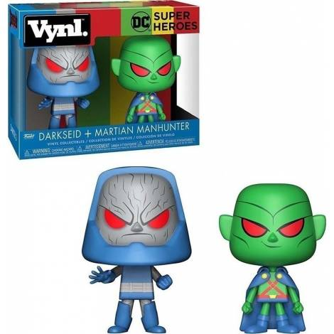 VYNL: DC Super Heroes - Darkseid + Martian Manhunter Vinyl Collectibles