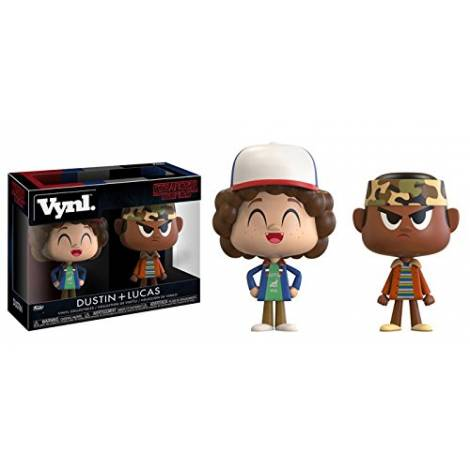 Vynl Stranger Things - Dustin and Lucas Vinyl Collectible Figures