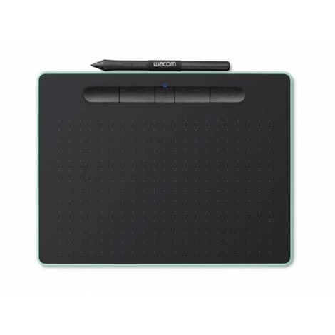 WACOM (CTL-6100WLE-N) INTUOS PEN TABLET BLUETOOTH, MEDIUM, GREEN (CTL-6100WLE-N)
