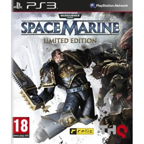 Warhammer 40,000 SpaceMarine Limited Edition (PS3)