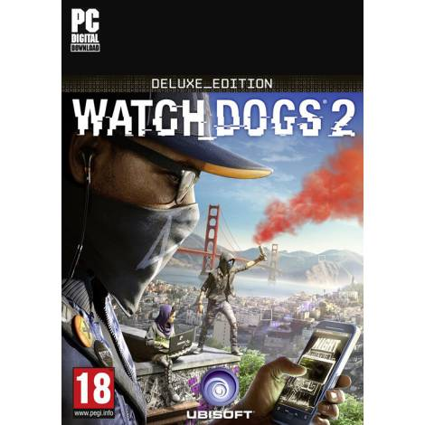 Watch Dogs 2 Deluxe Edition  (PC) (Code Only)