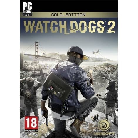 Watch Dogs 2 Gold Edition (PC) (Code Only)