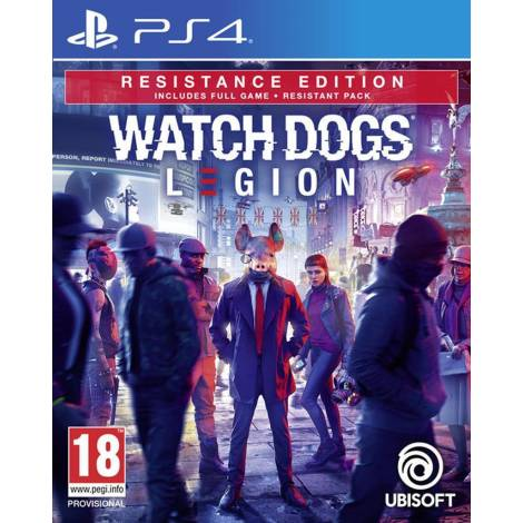 Watch Dogs: Legion (Resistance Edition) (PS4)