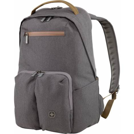 Wenger CityGo 16-inch Laptop Backpack with Tablet Pocket, Gray (602807)