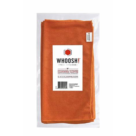 CLEANER WHOOSH Antimicrobial .MICROFIBER CLOTH (WHCOMCLO12)