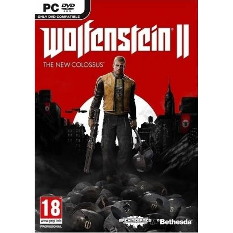 Wolfenstein II The New Colossus - Steam CD Key (Κωδικός μόνο) (PC)