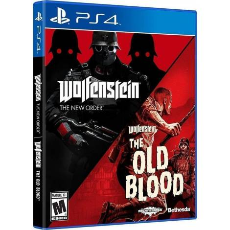 Wolfenstein: the Two Pack (PS4)