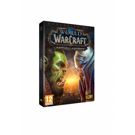 WORLD OF WARCRAFT BATTLE FOR AZEROTH (EXPANSION SET) (PC)