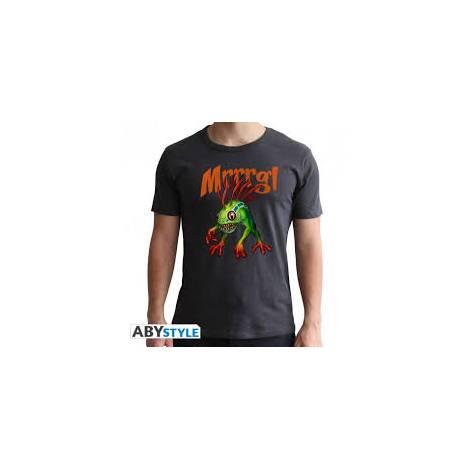 World of Warcraft - Murloc - Man Dark Grey T-Shirt - Size (XS,S,M,L,XL,XXL)