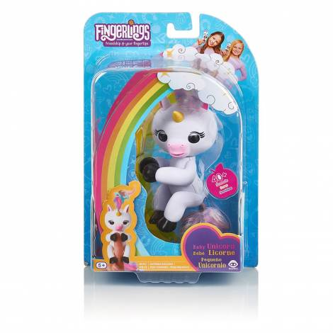 WOWWEE Fingerlings Unicorn Gemma Pink (3707)