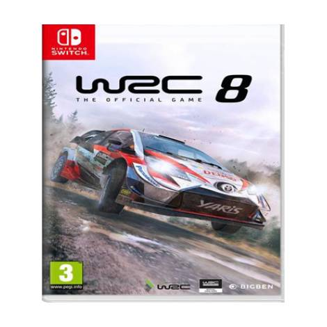 WRC 8 The Official Game (Nintendo Switch)