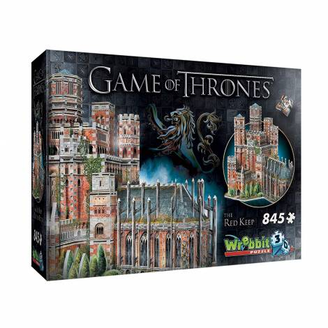 Wrebbit Game of Thrones-The Red Keep 3D Puzzle (845 pc)