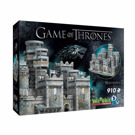 Wrebbit Game of Thrones-Winterfell 3D Puzzle (910 pc)