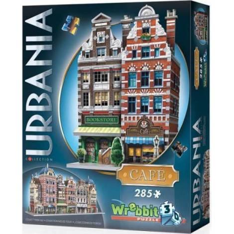 Wrebbit Παζλ 3D 285τεμ. (W3D-0503) Urbania Collection - Cafe