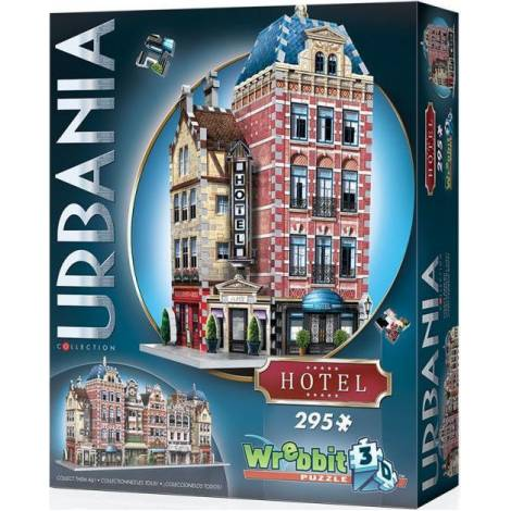 Wrebbit Παζλ 3D 295τεμ. (W3D-0501) Urbania Collection - Hotel