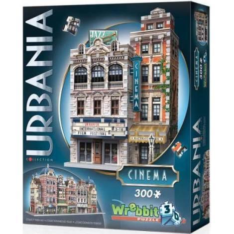 Wrebbit Παζλ 3D 300τεμ. (W3D-0502) Urbania Collection - Cinema