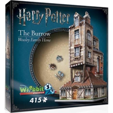 Wrebbit Παζλ 3D 415τεμ. (W3D-1011) Harry Potter - The Burrow