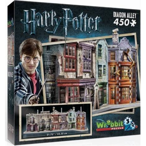 Wrebbit Παζλ 3D 450τεμ. (W3D-1010) Harry Potter Diagon Alley