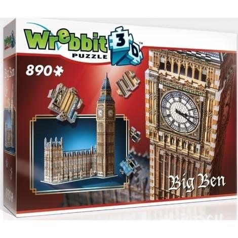 Wrebbit Παζλ 3D 890τεμ. (W3D-2002) Big Ben