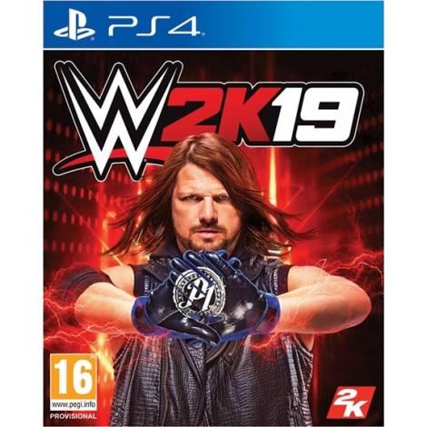WWE 2K19 & Bonus DLC - Rey Mysterio & Ronda Rousey Pack (PS4)