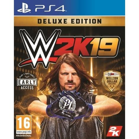 WWE 2K19 (Deluxe Edition) (PS4)