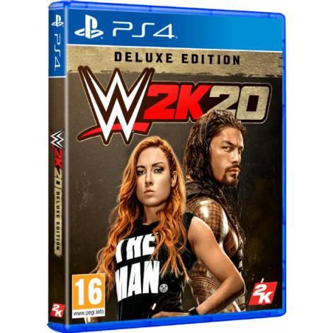 WWE 2K20 (Deluxe Edition) (PS4) (Pre-Order Bonus)