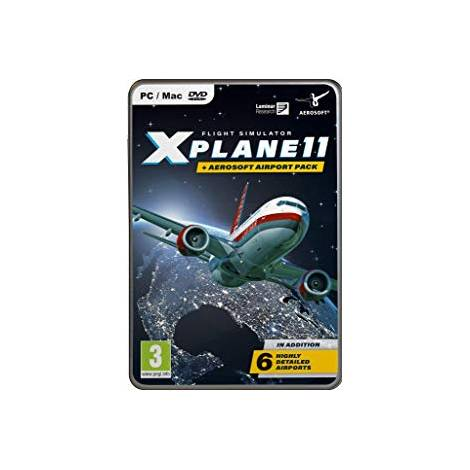 X-Plane 11 and Aerosoft Airport Collection (PC)