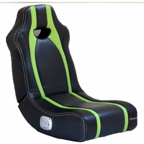 X-Rocker Spectre Gaming Chair Black / Green (5124701)