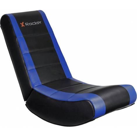 X-Rocker V Rocker Gaming Chair Black / Blue (0779101) και δώρο Turtle Beach Ear Force Recon 50 (TBS-6003-02)