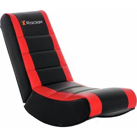 X-Rocker V Rocker Gaming Chair Black / Red (5124101) και δώρο Turtle Beach Ear Force Recon 50 (TBS-6003-02)