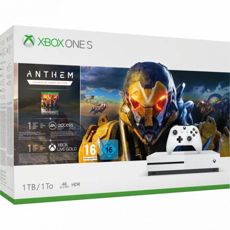 XBOX ONE CONSOLE  S 1TB ANTHEM