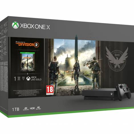XBOX ONE CONSOLE  X DIVISION  2