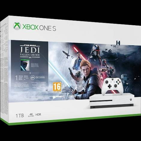 Xbox One S Star Wars Jedi Fallen Order Bundle   (234-01130)