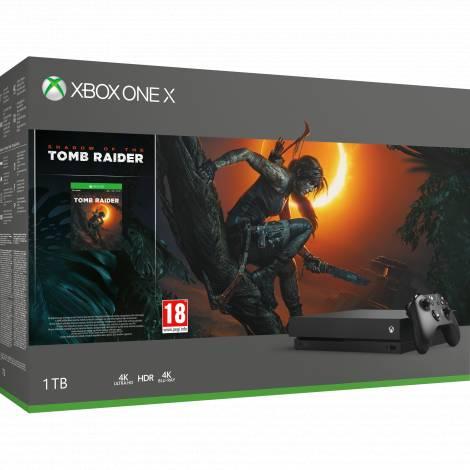 Xbox One X 1TB   Shadow of the Tomb Raider