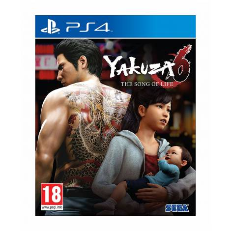 Yakuza 6: The Song Of Life - D1 Edition (PS4)