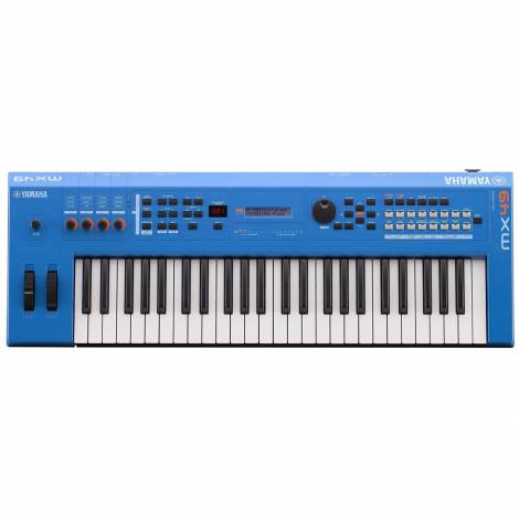 YAMAHA MX-49II Blue Synthesizer