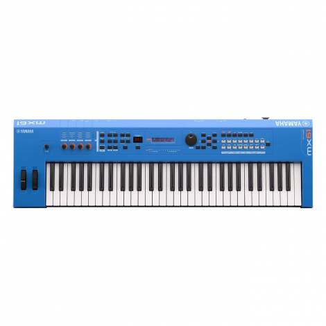 YAMAHA MX-61 II Blue Synthesizer