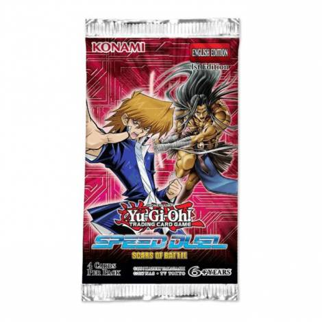 YU-GI-OH!: SPEED DUEL SCARS OF BATTLE BOOSTER PACK