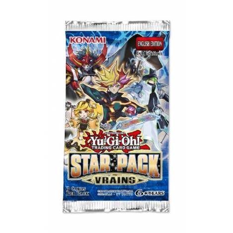 YU-GI-OH!: STAR PACK: VRAINS DISPLAY booster pack