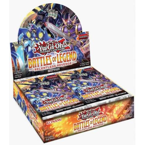 Yu-Gi-Oh! TCG – Battles of Legend: Relentless Revenge Booster Box