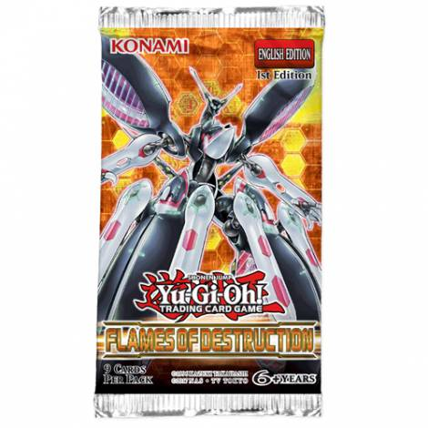 Yu-Gi-Oh! TCG – Flames of Destruction Booster Pack