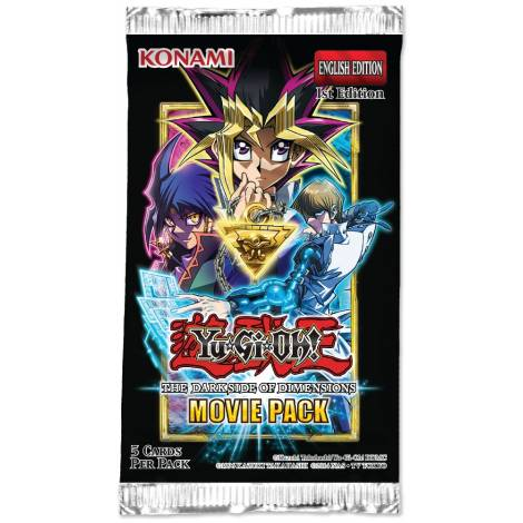 YU-GI-OH!: THE DARK SIDE OF DIMENSIONS MOVIE PACK 2016 BOOSTER