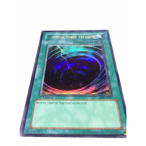 YuGiOh ! Mystical Space Typhoon Ultra Rare MRL-E047 1st Edition